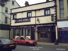 Sheffield Pubs, Screened Pool, Fishing Tackle Shop, Manchester Hotels, Midland Hotel, Madrid Hotels, Side Road, Big Guns, Brick Building