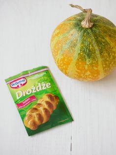 Chleb dyniowy - Przepis | Pani Tereska Pumpkin, Bread, Vegetables, Breakfast, Recipes, Food, Morning Coffee, Buttercup Squash, Meal
