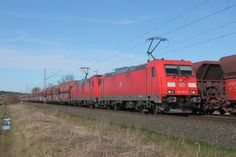 Trains and locomotive database and news portal about modern electric locomotives, made in Europe. Db Ag, Electric Locomotive, Bahn, Train Tracks, German, Adventure, Pictures, Deutsch, German Language