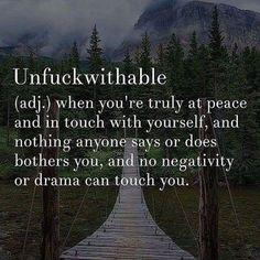 Unfuckwithable