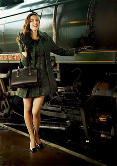 Renata and Jonathan: Ted Baker A/W 2013 Lookbook | Fall Preview #fashion