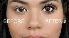 The Mascara Hack Every Girl With Short Lashes Needs To Know About hacks Get Thicker Hair, Thicker Eyelashes, Natural Eyelashes, Longer Eyelashes, Long Lashes, Fake Lashes, False Eyelashes, Short Eyelashes, Blinc Mascara