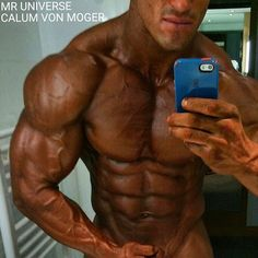 The BIG MAN Calum von Moger Mr. universe 2015 Winner #WFF #ChapstickNation