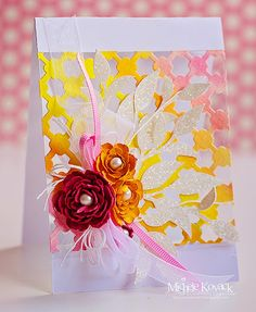 Thoughts of a Cardmaking Scrapbooker!: Watercolors and Acetate