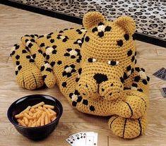 Crochet Pattern - Leopard amigurumi pattern
