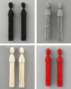 oscar-de-la-renta-tassel-beaded-earrings