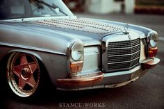 1969 MERCEDES BENZ W114 250 steampunk