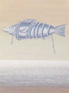 René Magritte - Homage to Alphonse Allais