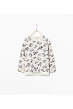 newest 0a540 dc3a1 Sweater Animal mix by Zara