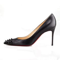 Christian Louboutin  Geo 80mm Pumps Black10 dokuz limited offer,no duty and free shipping.#shoes #womenstyle #heels #womenheels #womenshoes  #fashionheels #redheels #louboutin #louboutinheels #christanlouboutinshoes #louboutinworld