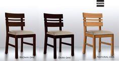 Slice chair, made in oak
