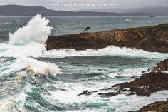 El mar ataca la costa de #ACoruña con el temporal vía @dabago77 #Galicia #SienteGalicia