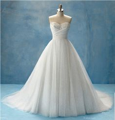 I teared up when I first saw this.  Alfred Angelo Disney Princess Collection. Cinderella
