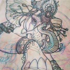 I want an elephant tattoo.