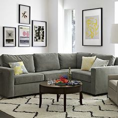 Henry 3-Piece Sectional #westelm