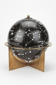 """""""Magical Thinking"""" constellation globe from Urban Outfitters ($40)."""