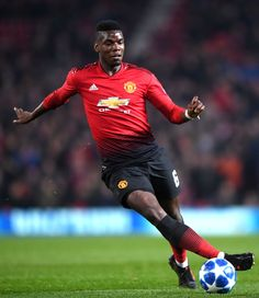 Paul Pogba of Manchester United in action during the UEFA Champions League Group H match between Manchester United and BSC Young Boys at Old Trafford on November 2018 in Manchester, United. Get premium, high resolution news photos at Getty Images Manchester England, Manchester United, Pogba Wallpapers, Ronaldo Juventus, Paul Pogba, English Premier League, Old Trafford, Uefa Champions League, Young Boys