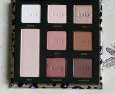 #TARTE #Maneater #Eyeshadow #palette