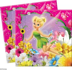 WWW.PARTYTIME-SHOP.IT | TOVAGLIOLI TRILLY FAIRIES 33X33CM