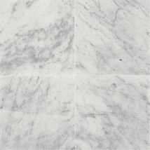 Marble 12x12 Carrara White Polished Master Bath Shower Wall Tile Daltile Natural Stone Tile Marble Floor