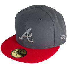 Cap New Era Poptonal Atlanta Braves graphite/red