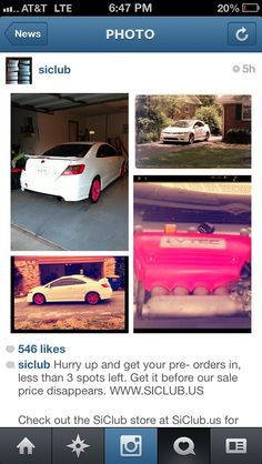 when a car page posted my baby
