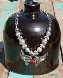 Pistol Cowgirl Necklace | Elusive Cowgirl