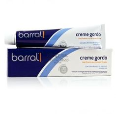 """$10.65 -  One of the most successful Portuguese products of all time, """"Creme Gordo Barral"""" is a must have for any dry skin care and known as the very best cream for preventing pregnancy marks and stretch marks.    Ideal for the hydration of very dry skin, solar dehydration, cold irritation and sensitivity, flaking skin and prevention of striae."""