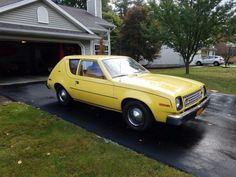 Here is one nice 1978 AMC Gremlin. A real survivor. This is literally Grandmas car. We shipped it out from Illino Hudson Car, Amc Gremlin, Jeep Models, American Motors, Motor Company, Gremlins, Drag Racing, Car Show, Race Cars