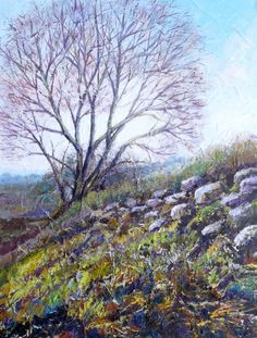 'Aislaby Path' ..near Whitby Acrylic on canvas  https://www.facebook.com/pages/Rita-Readman-Art/270262966411327