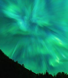 Aurora Borealis - Efjorden, Ballangen, Norway