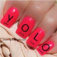 Yolo nails