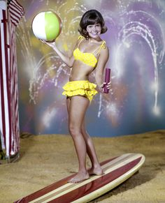 The Most Memorable Swimsuits Ever - Sally Field from #InStyle