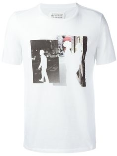MAISON MARTIN MARGIELA Man Printed T-Shirt. #maisonmartinmargiela #cloth #t-shirt