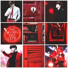 // got7 Yugyeom - red & black //                                                                                                                                                      More