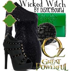 Wicked Witch by lalakay on Polyvore
