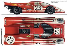 Porsche 917K (1970 LeMans Winner) | SMCars.Net - Car Blueprints Forum
