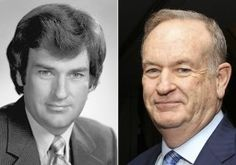 O'Reilly in 1980 and in 2013. (Getty, AP) O'Reilly embellishing his reporting of events. Different stories becoming public in Feb. of 3015