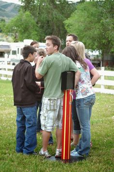 Time of Our Lives: Amazing Race Youth Conference would be a fun camporee, too!