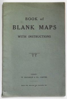 Book of Maps with Instructions