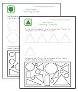 Teach Children Shapes. This set of worksheets will help you teach preschool children their shapes. These pages incorporate learning to draw shapes by having kids trace the shapes and they draw them on their own. They also help children with shape recognition by getting them to indentify and color specific shapes from a group. Pinned by Generation iKid.