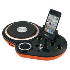 #Jensen DJ Scratch Mixer - Orange  #turntable