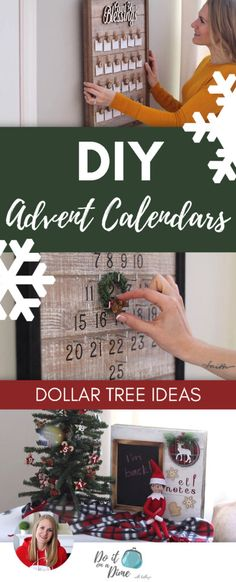 Today we are making 4 DIY advent calendars using Dollar Tree and clearance products. Who would have thought you could use a plunger to make a Christmas tree? Reusable Advent Calendar, Cool Advent Calendars, Advent Calendar Gifts, Homemade Advent Calendars, Christmas Tree Advent Calendar, Dollar Tree Christmas, Diy Calendar, Dollar Tree Crafts, Christmas Diy