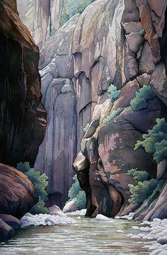 Jonathan Frank Studio - High Definition Watercolor Landscapes