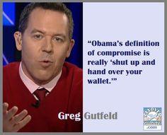 Greg Gutfeld ~ AmericaLoses