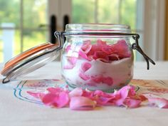 The Old Fashioned Way: Sugared Roses on TheHistoryKitchen.com #history #vintage #recipes
