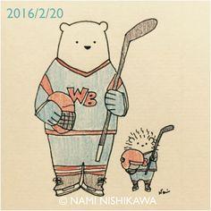 768 アイスホッケー  ice hockey