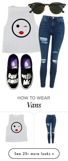 """""""•Run away with me•"""" by eemaj on Polyvore featuring Topshop and Ray-Ban"""