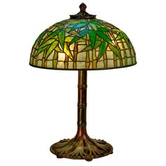 Tiffany Studios Bamboo Table Lamp