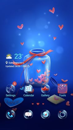 [Compliment a Seller] PhintonART Red Color Combinations, Jar Of Hearts, Galaxy Theme, Nice Thoughts, Cute Themes, Forest Theme, Summer Cocktails, Cute Bunny, App Icon
